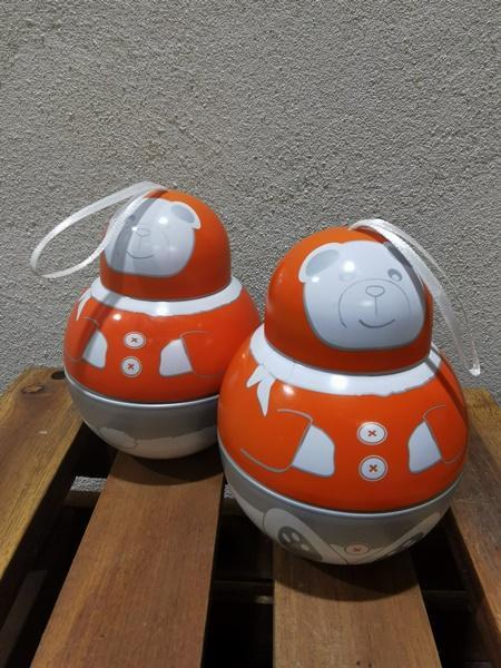 Boules de Noël 'Trio de Pralinés'